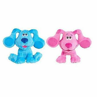Plush Blue Dog Or Magenta Pink Dog Mail Dolls Kids Toy Gift