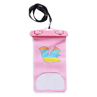 Cartoon Mobile Phone Waterproof Bag Drifting Pvc Mobile Phone Bag