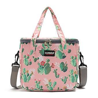 女性のための熱ファッション多機能ランチバッグは、女性のピクニックミルクビールクーラーボックスポータブルバッグ