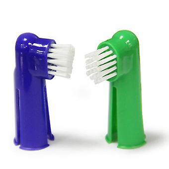 4 kusová sada zubní pasty pro domácí mazlíčky Ústní čisticí prostředky Zubní nářadí Zubní kartáček Set