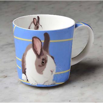 Leslie Gerry porcelaine Mug, lapin