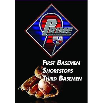 Prime 9: First Basemen / Shortstops [DVD] USA import
