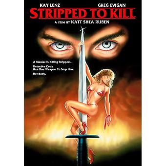 Stripped to Kill [DVD] USA import