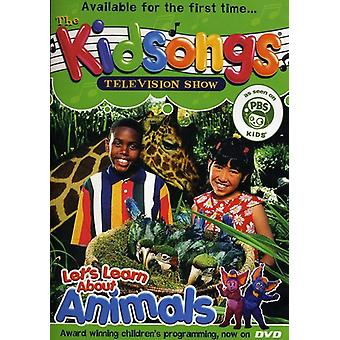 Kidsongs - Let's Learn About Animals [DVD] USA import