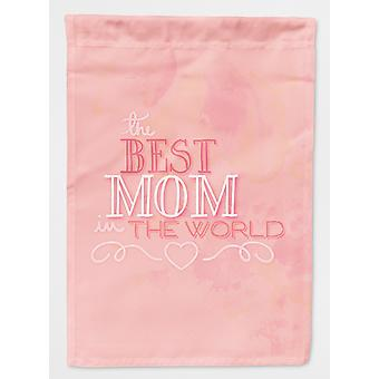 Carolines skatter BB5419GF den beste mammaen i verden rosa flagg hage størrelse