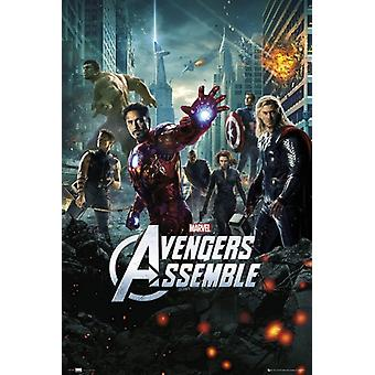 The Avengers - One Sheet 24x36 Poster Print Poster Poster Print