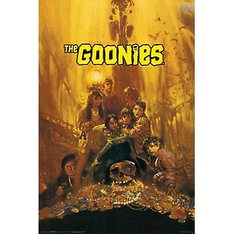 The Goonies Treasure Poster Poster Print