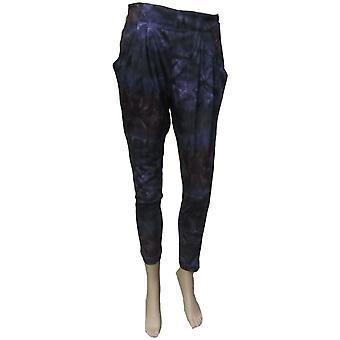 Ex Topshop Midnight Hareem Style Pants