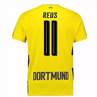 2017-18 Borussia Dortmund hem Kortärmad skjorta (Reus 11)