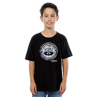 Marvel Boys Guardians Of The Galaxy Rocket Powered T-Shirt