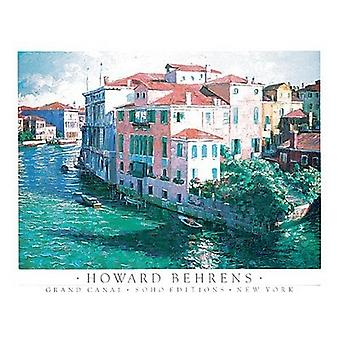 Grand Canal Juliste Tulosta Howard Behrens (24 x 18)