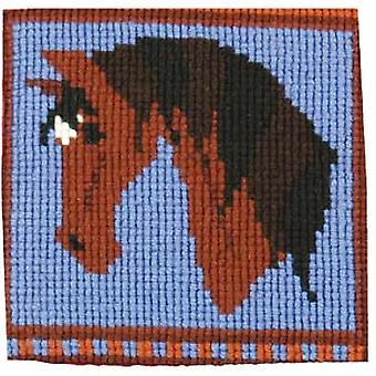 Rocky Bay Pony Needlepoint Kit