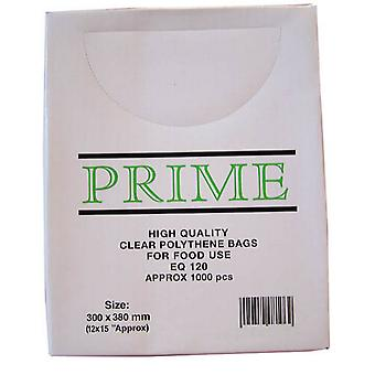 Smith & Bateson Clear Poly Weighout Bags (Pack Of 1000)