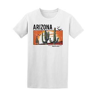 Desert Arizona Cactus Tee Men's -Image by Shutterstock