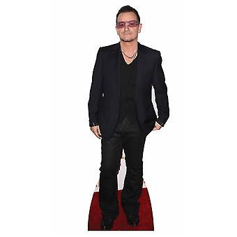 Bono elämän kokoinen pahvi automaattikatkaisin