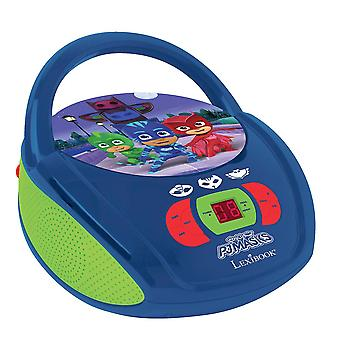 Lexibook PJ Masks Boombox Radio CD Player (Model No. RCD108PJM)