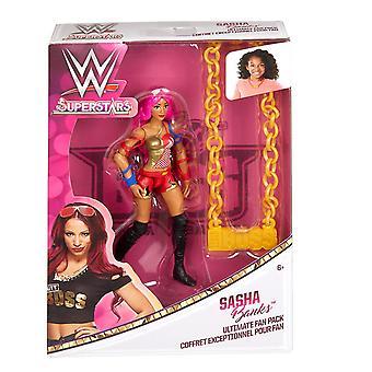 WWE Superstars Ultimate Fan Pack Action Figure - Sasha Banks