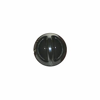 Indesit Brown Control Knob Assembly - Long Shaft