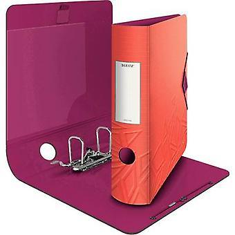 Leitz Folder Urban Chic A4 Spine width: 82 mm Red 2 brackets 11160024