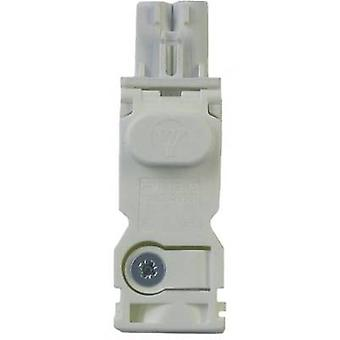 Output side AC plug for LED light series 7L Finder 07L.12 AC plug, white