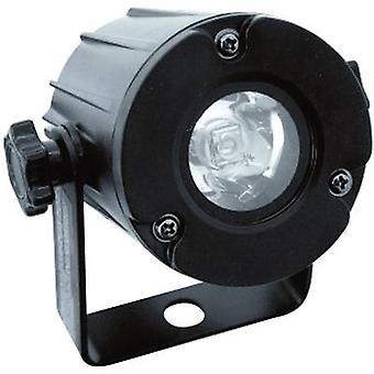 يوروليتي LED الباسيفيكي-3 W 6000 ك الصمام دبوس رقم الموضعية من المصابيح: 1 × 3 أبيض أسود