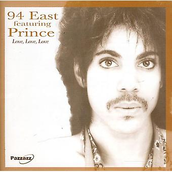 94 East Featuring Prince - Love Love Love [CD] USA import