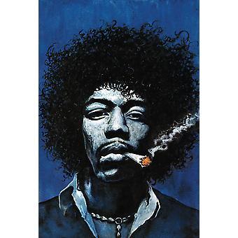 Jimi Hendrix poster gezamenlijke
