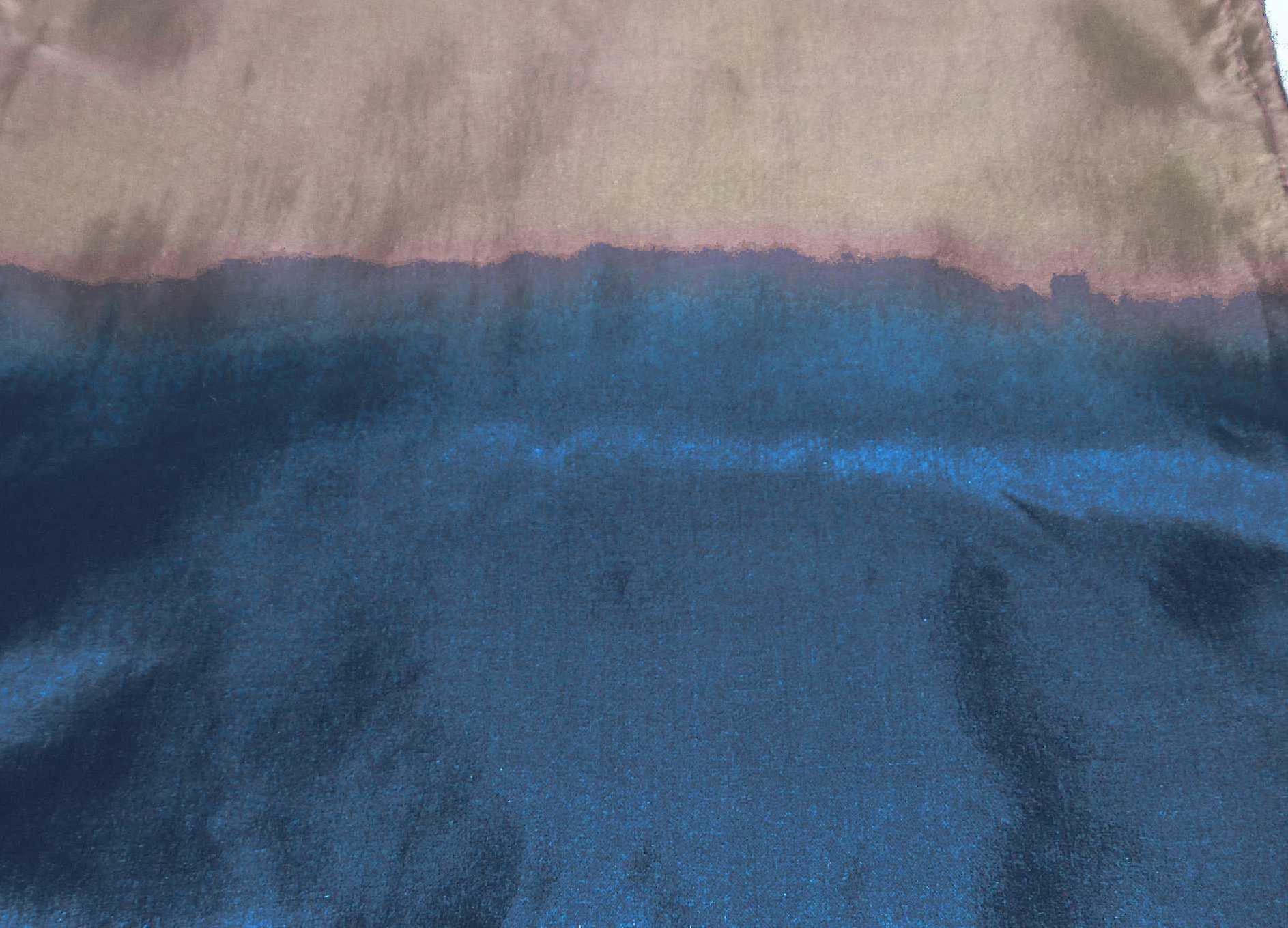 Tabby Weave Pure Silk Scarf Sapphire by Pashmina & Silk