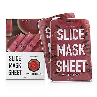 Scheibe Maske Blatt - Wassermelone - 10blatt