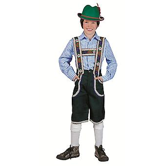 Pour enfants costumes pantalons tyrolienne pour enfants Anton