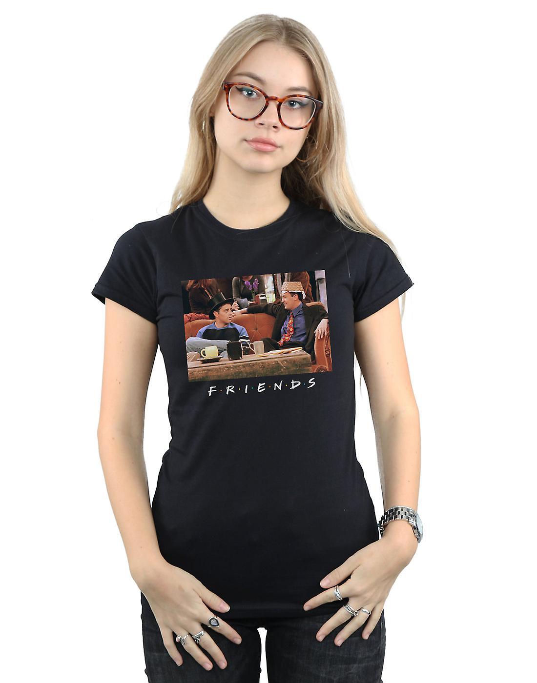 Friends Women's Joey And Chandler Hats T-Shirt
