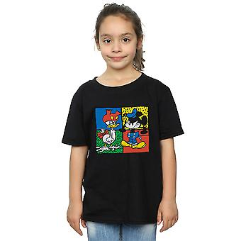 Disney Girls Mickey Mouse Donald Clothes Swap T-Shirt