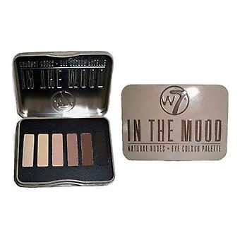 W7 Natural Nudes Eye Colour Palette, In the Mood