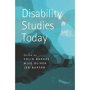 Vammaisopinnot Tänään Colin Barnes - 9780745626574 Kirja