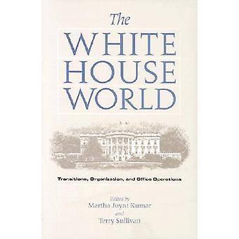 Het witte huis wereld - overgangen - organisatie en Office Operatio