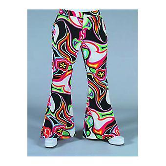 Trajes de homens calças Hippie/disco com impressão de fantasia