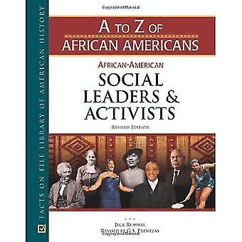Afro-amerikanska sociala ledare och aktivister
