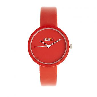 Crayo Blade Unisex Watch - Red