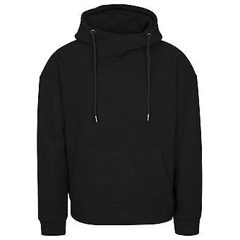 Urban classics men's Hooded sweater polar fleece high neck