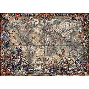 Educa Korsanlar Harita Yapboz (2000 Adet)