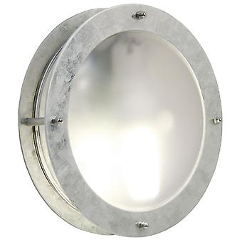 Malte  -  Galvanised Circular Outdoor Wall Light  - Nordlux 21861031