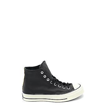 Converse 149534c Hombres's Zapatillas de cuero negro Hi Top