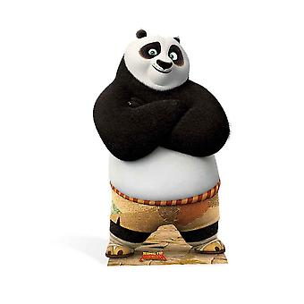 Po Ping Kung Fu Panda Lifesize tektury wyłącznik / Standee / Standup