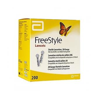 Freestyle Blood Glucose Lancets 28G 200