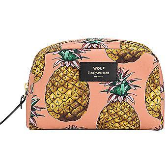 Wouf Ananas Pineapple Big Beauty Make Up Bag