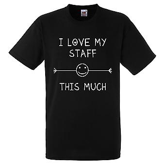 أنا أحب الموظفين بلدي هذا الكثير من القميص الأسود