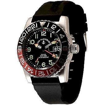 Zeno-watch mens watch airplane diver automatic 6349GMT-12-a1-7