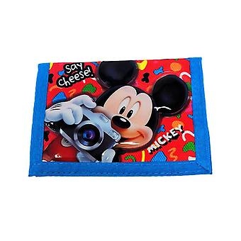 Children's Mickey Mouse Say Cheese Wallet