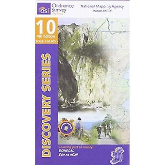 Donegal (SW) (4th Revised edition) by Ordnance Survey Ireland - 97819