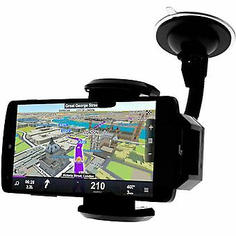 Car Holder Smartphone Windshield Flexible Arm 360 ° - Black